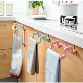 Plastic Garbage Bag Rack Portable Hanging Trash Rubbish Bag Storage Rack  Rack Storage Kitchen Garbage Rubbish Bag Can Holder Hanging Kitchen Cabinet Trash