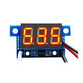 3個赤ライトミニ0.36インチDC電流計DC0-999mA 4-30Vデジタル表示付き逆接続保護電流計