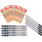 25Pcs T101BR Jigsaw Reciprocating Saw Blades High Carbon Steel for Bosch Makita