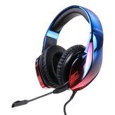 Kabelová herní náhlavní souprava BlitzWolf® AirAux AA-GB3 7.1 Prostorový zvuk 50mm dynamický ovladač Hifi Bass RGB Ohromující lehká sluchátka pro počítač PC PS3/4 Gamer
