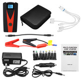 99900 mAh Dual USB Starter LCD Auto Batterie Booster Portable Power Pack avec Jumper câbles