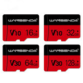 WANSENDA 8GB 16GB 32GB 64GB 128GB 256GB High Speed TF/ SD Memory Card With Card Adapter For Mobile Phone Tablet GPS Camera