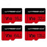 WANSENDA 8GB 16GB 32GB 64GB 128GB 256GB TF / SD de alta velocidade cartão de memória com adaptador de cartão para celular tablet GPS câmera
