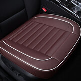 PU Leather Front Back Car Seat Cover Breathable Back Cover Fit for Most Car
