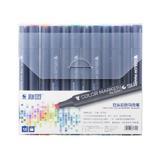 STA 3203 Маркер Black Rod White Rod Гель Ручка Стандартный набор 12 24 36 48 60 Коробка Ручная роспись Дизайн