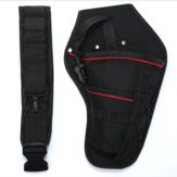 Waist Pockets Electrician Tool Bag Oganizer Carrying Tools Bag for Electric Drill Bag Impact Wrench Tool Bag