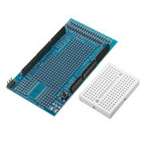 5Pcs Mega2560 1280 Protoshield V3 Expansion Board With Breadboard Geekcreit for Arduino - products that work with official Arduino boards