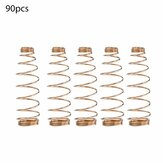 90 PCS Piano Spring Piano Hammer Butt Spring Piano Damper Lever Springs Piano Action Spring Vertical Piano Accessories Repair Parts