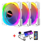 COOLMOON 1/3Pcs RGB Cooling Fans 120mm PC Case Cooler Computer CPU Cooling Fan