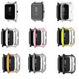Bakeey Galvaniseren All-inclusive TPU Watch Case Cover Horlogebeschermer voor Amazfit bip / bip lite