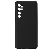 Bakeey for Xiaomi Mi Note 10 Lite Case Silky Smooth Anti-fingerprint Shockproof Hard PC Protective Case with Lens Protector Non-original