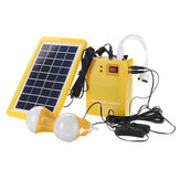 12V DC Solar Panels Lighting Charging Generator Home Outdoor Energy Solar Powered System