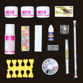 14 Acrylic Powder Nail Art Set