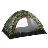 3-4 Person Automatic Camping Tent Double Door Tent Anti-UV Sun Shade Canopy Outdoor Beach Hiking Fishing Tent 79 x 79 x 49 Inches