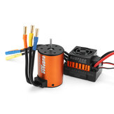Surpass Hobby Wasserdicht 3650 3100KV Brushless Motor + 45A ESC Combo Set für 1/10 Rc Autoteile