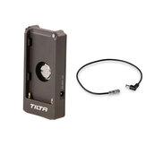 Płytka akumulatora Tilta F970 12V DC przewód zasilający przewód do studia fotograficznego BMPCC 4k 6K