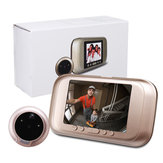 3,5 polegadas 720P Digital Door Bell Câmera Vídeo Campainha Peephole Viewer Zoom Video Recorder