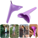 IPRee® Portable Outdoor Køn Urinal Toilet Soft Silikone Travel Stand Up Pee Device Trakt