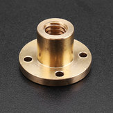Machifit T10 Lead Screw Nut 10mm Brass Nut for CNC
