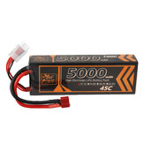 ZOP Power 11.1V 5000mAh 45C 3S LiPo Battery T Deans Plug for FPV Racing Drone
