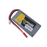 HJ Power 2S 7.4V 3500mah 8C Lipo Battery 2S Balance Plug and JST Plug for Jumper T12 T16 T18 Transmitter
