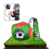 1.8M 3D Football Kick Trainer Ρυθμιζόμενη ελαστικότητα Ποδόσφαιρο Έλεγχος δεξιοτήτων Εξοπλισμός εξάσκησης ποδοσφαίρου Αξεσουάρ κιτ