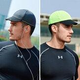 Men Two-sided Summer Outdoor Sport Riding Hat Short Brim Sunshade Breathable Perspiration Baseball Hat