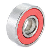 10pcs ABEC-7 Red Sealed Deep Groove Skateboard Ball Bearing 608RS 9x22x6mm Ball Bearing