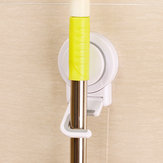 Multifonctionnel sans couture Sucker Mop Balai Crochet Holer Suction Cup Sans Clou