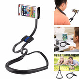 Bakeey Multifunctional 360° Degree Rotating Flexible Long Arm Neckband Lazy Tablet Mobile Phone Holder Stand for 4-10 inch Devices for iPad For Iphone Xiaomi Tablet
