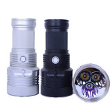 Haikelite MT09R 3x XHP35 Hi 6500LM MODE SET Super Long Range Momentary Searching LED Flashlight