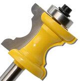 Drillpro 8mm Shank Bullnose Boncuk Sütun Ağaç İşleme İçin Yüz Kalıplama Yönlendirici Bit Aletler