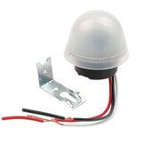 АС-20 220В фотоэлектрическое управление светом Водонепроницаемы Автоматический свет Датчик Переключатель уличного света Авто