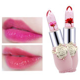 Temperatur ändern Farbe Blumen-Gelee-Lippenstift