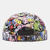 Banggood Design Men Cartoon Pattern Cute Casual Brimless Landlord Cap Skull Cap