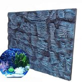 Créations aquatiques Universal Rocks Aquarium Background 3D Foam Fish Tank Background