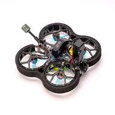 HOMFPV Micron 2 pouces HD 95mm 3S Drone de course Cinewhoop FPV BNF Caddx Vista nébuleuse NANO Cam F4 AIO 20A 1104 6500KV moteur