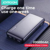 JOYROOM Power Bank 20000 mAh LED Display 2 USB-voeding Met Mico USB Type-C Input Snel opladen Voor iPhone XS 11Pro Huawei P30 P40 Pro Mi10 Oneplus 8Pro