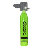 DIDEEP 0.5L Oxygen Tank Portable Underwater 6-10min Oxygen Bottle Diving Equipment