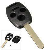 4 Buttons Remote Key Cover Shell Case for Honda Accord Civic Element Pilot
