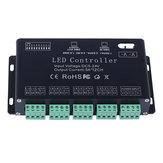 12 Kanal RGB DMX 512 LED Denetleyici Çözücü Dimmer Sürücüsü LED Şerit Modül Işığı DC5V-24V için