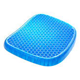 Elastic Ice gel Cooling Seat Cushion Pad with Black Non-slip Comfortable Massage Seat Office Chair Health Care Pain Release