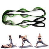 KALOAD 245cm Yoga Resistance Bands Fitness Foldable Sport Arms Legs Back Shoulders Stretch Strap With Multiple Grip Loops