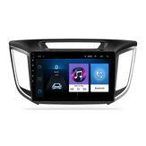 YUEHOO 9 pouces Android 10.0 autoradio lecteur multimédia 2G / 4G + 32G GPS WIFI 4G FM AM RDS bluetooth pour Hyundai ix25 Creta 2014-2017