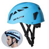 GUBD6ABS+EPSCycling Climbing Caving Protect Helm mit Scheinwerferschienen Ultraleicht Atmungsaktiv