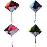 أطفال اليد رمي المظلة اللعب في الهواء الطلق لعبة مضحك تشابك الحرة المظلة لعبة