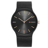 CURREN 8256 Simple Business Baja Strap Men Kuarsa Watch