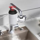 Bakeey 3000W Collegamento Tipo Digitale Display Installazione gratuita Rubinetto elettrico per acqua calda Rubinetto istantaneo per acqua calda con doccia Connettore