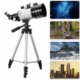 150X Refractive Magnification Power Professional Night Vision HD Viewing Outdoor Deep Space Moon Astronomical Telescope with Aluminum Alloy Tripod