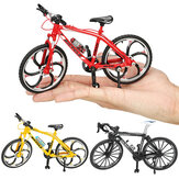 1:10 Diecast Bicycle Modell Toys Rennrad Cross Mountain Bike Gebäude Geschenk Dekor